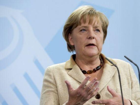 Angela Merkel vrea sa devina eroina Europei. Isi risca viitorul politic pentru salvarea Greciei si a euro
