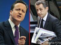 Franta sare la gatul Marii Britanii: Cum l-a atacat Sarkozy pe Cameron si a socat Bruxelles-ul