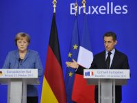 Atena produce un nou cutremur in Europa. Sarkozy si Merkel discuta despre referendumul din Grecia