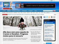www.stirileprotv.ro, pentru a 2-a saptamana consecutiv in octombrie - CEL MAI CITIT SITE IN ROMANIA