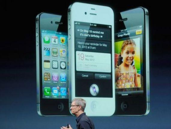 Batalia pe iPhone 4S se duce in functie de pret. Operatorii telecom din Romania introduc in magazine noul smartphone de la Apple in aceeasi zi