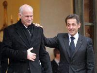 """Sarkozy, furios pe referendumul lui Papandreou: """"Grecia sa-si respecte intelegerile!"""""""