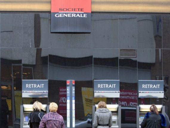 Bancile adopta strategii de urgenta. Societe Generale reduce bonusurile si renunta la dividende
