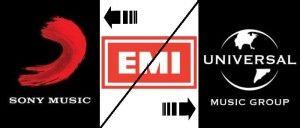 Citigroup imparte casa de discuri EMI intre Universal Music Group si Sony Music Entertainment. Valoarea totala a tranzactiei: 4,1 miliarde de dolari