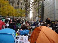 Cum arata Wall Street-ul ocupat. Imagini in exclusivitate Ziarul Financiar