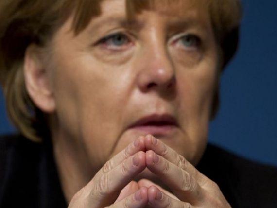 Merkel:  Germania este pregatita sa cedeze o parte din suveranitate pentru intarirea zonei euro