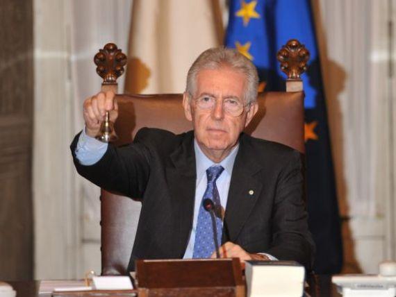 Monti are cale libera sa salveze Italia. Noul Guvern de la Roma a obtinut increderea Parlamentului