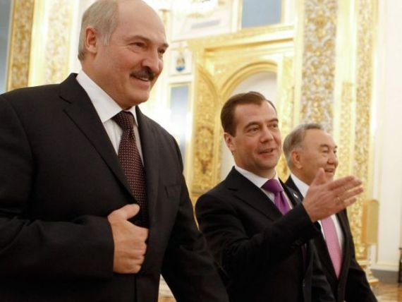 Intoarcerea la Uniunea Sovietica. Rusia, Kazahstan si Belarus au pus bazele Uniunii Eurasiatice