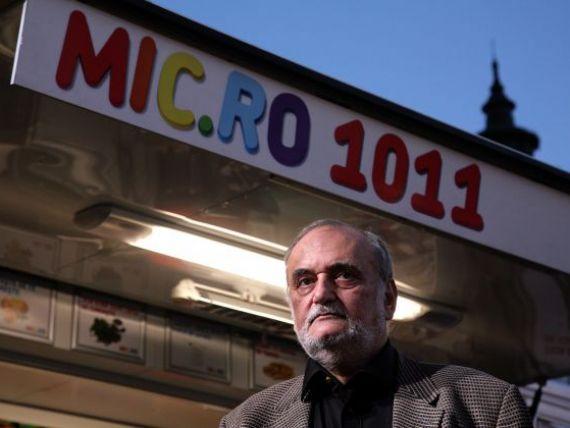 Dinu Patriciu:  Mic.ro nu este aproape nici de vanzare, nici de insolventa . Omul de afaceri acuza BNR ca franeaza dezvoltarea economiei
