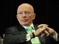 Declaratie soc a lui Mark Mobius, administratorul Fondului Proprietatea: Tiparnita de bani amana, nu impiedica crahul mondial
