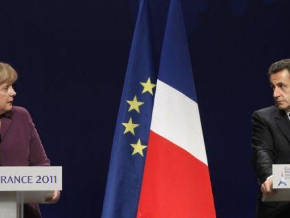 Ultimul plan de salvare a monedei unice. Merkel si Sarkozy vor un spatiu Schengen al finantelor zonei euro