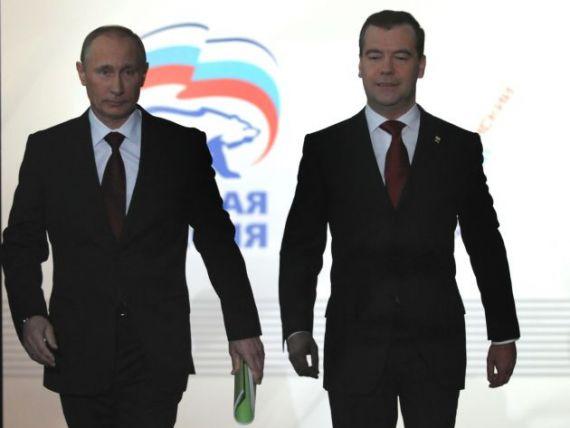Tarul  etern. Vladimir Putin si-a anuntat oficial candidatura la presedintia Rusiei. Pentru a treia oara
