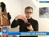 Designerul care descopera comori. Francezul Phillipe a dus arta populara romaneasca direct pe catwalk VIDEO