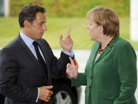 Incepe o saptamana cruciala pentru zona euro. Ce solutii propun Merkel si Sarkozy pentru salvarea Europei