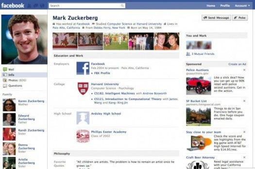 Marile secrete ale fondatorului Facebook, tradate de defectiunea propriului produs GALERIE FOTO