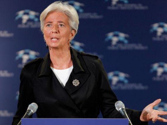 Sefa FMI, Christine Lagarde, nu este dispusa sa renegocieze planul de imprumut pentru Grecia