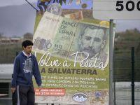 Saraciti de euro, spaniolii isi cheltuiesc vechile pesetas, pastrate ca amintire. Orasul in care cumparaturile se fac in fosta moneda nationala