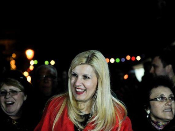 Elena Udrea: Criza nu se sfarseste in 2012, dar Guvernul va putea plati salariile si pensiile