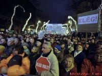 Nemultumiti de noua Constitutie, maghiarii au iesit in strada. Seful guvernului, acuzat ca a transformat Ungaria in Orbanistan