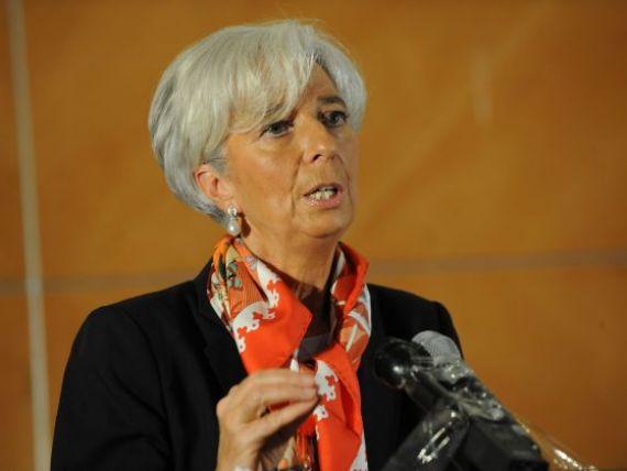 Lagarde:  FMI va inrautati prognoza de crestere economica la nivel mondial