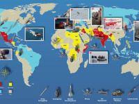 Harta mondiala a tuturor razboaielor din 2012. Locurile de pe Glob, gata sa erupa