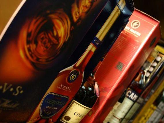 Innabusiti in alcool. Vanzarile mondiale de coniac au crescut anul trecut la un nivel record: 5 sticle pe secunda