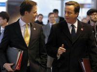 Liderii politici de la Londra, inclusiv premierul Cameron, isi doneaza 10% din avere