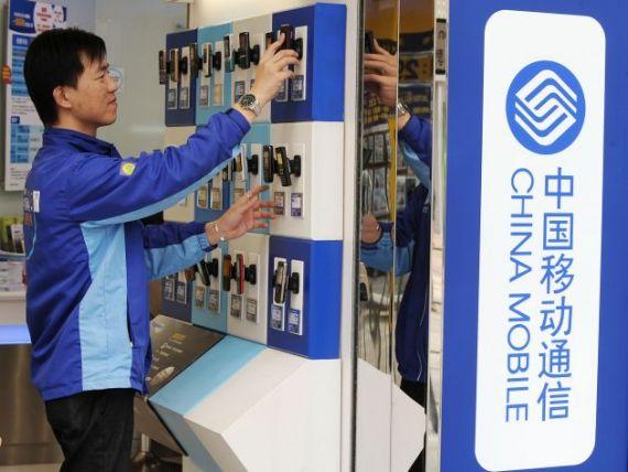 China numara aproape un miliard de abonati de telefonie mobila. Totalul populatiei ajunge la 1,35 miliarde