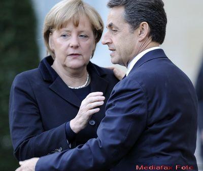 Consilier prezidential: In viata lui Nicolas Sarkozy sunt trei femei: fiica lui, Carla Bruni si Angela Merkel