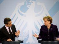"""Merkel si Sarkozy vor infiintarea unei """"pusculite"""" speciale pentru plata datoriilor Greciei"""