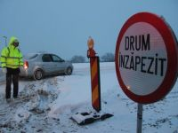 Circulatie inchisa pe autostrada A2. 46 de drumuri nationale raman blocate