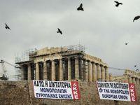 """Grecia isi striga furia impotriva Europei: """"Jos dictatura monopolului UE"""""""