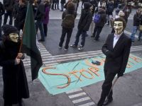 Vor un internet liber. Cateva mii de persoane manifesteaza in Europa impotriva Acordului ACTA GALERIE FOTO