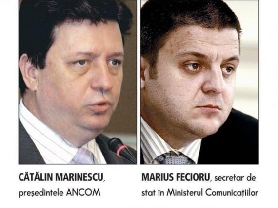 Fecioru si Marinescu au facut lobby la Barcelona pentru licitatia de licente telecom