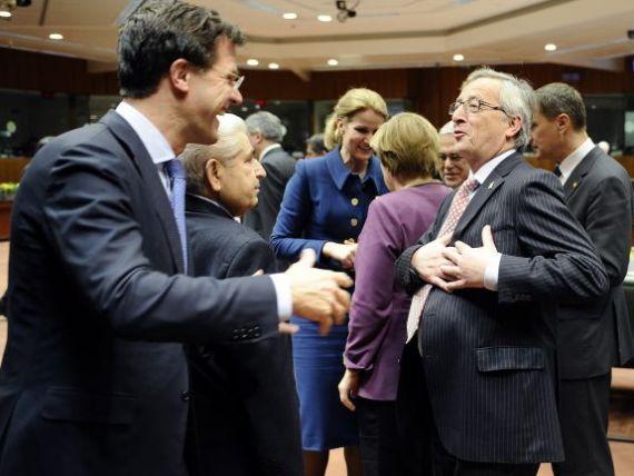Juncker:  Au fost indeplinite conditiile ca zona euro sa aprobe al doilea program pentru Grecia