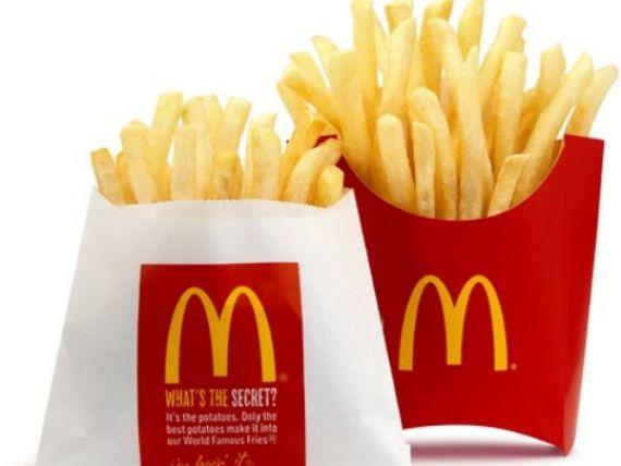 McDonald s scoate din meniuri 2 dintre cele mai populare produse