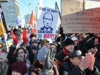 Vladimir Putin, constestat de propriul popor. Zeci de mii de oameni protesteaza la Moscova impotriva noului presedinte GALERIE FOTO