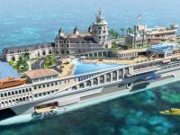 Primele imagini cu iahtul de un miliard de euro. E primul vas din lume cu pista de Formula 1 FOTO