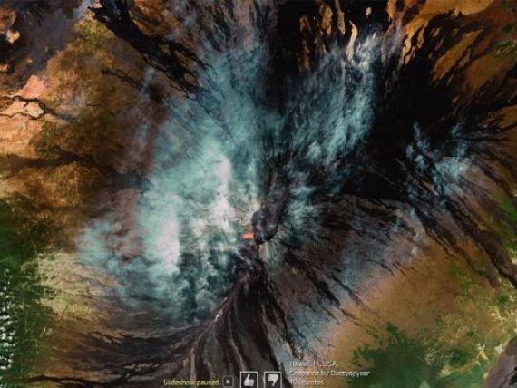 Radiografia lumii. Cele mai spectaculoase imagini realizate prin Google Earth GALERIE FOTO