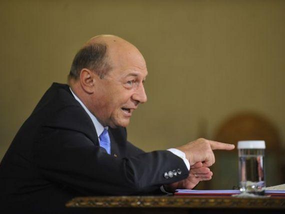 Basescu: Petrom sa se astepte ca din 2014 redeventa sa nu fie mai mica decat in statele arabe