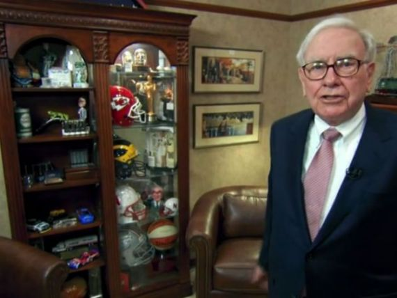 Warren Buffett: bdquo;Am nevoie doar de telefon, un pix si hartie . Cum arata biroul investitorului cu o avere de 44 de miliarde de dolari VIDEO