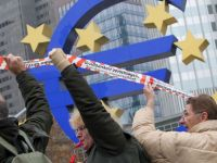 Culmea crizei: nemtii se ridica impotriva capitalismului. Proteste violente la Frankfurt, fata de politica de austeritate a UE si a BCE