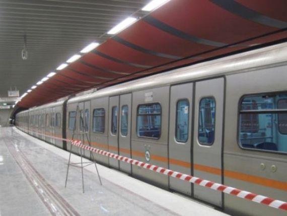 Romanii au  electrificat  Atena. Cum a ajuns o companie romaneasca sa puna umarul la dezvoltarea metroului elen GALERIE FOTO