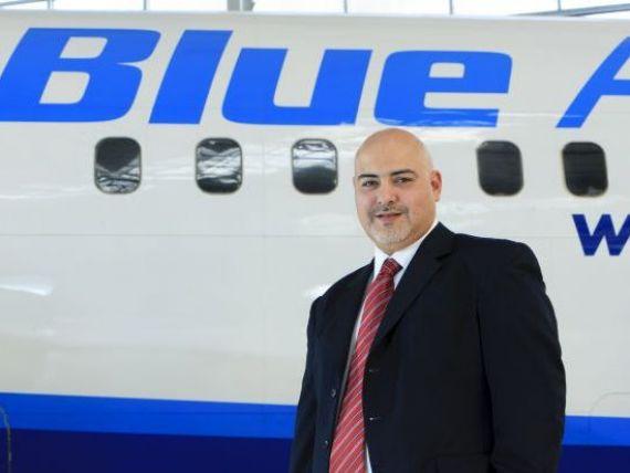 INTERVIU. CEO-ul Blue Air despre scandalul insolventei si schimbarile aduse de criza:  Noi nu punem pasagerii sa se bata pe un loc in aeronava