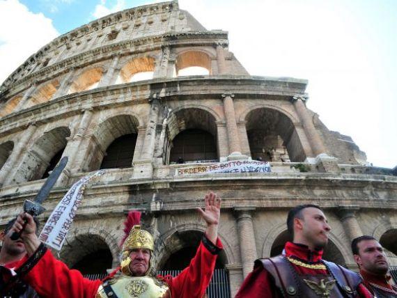 Mario Monti arunca leilor  gladiatorii  Romei. Cum se apara  centurionii