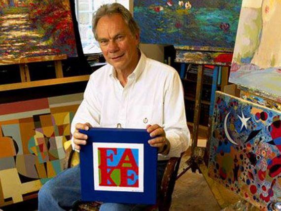 Englezul care picteaza  falsuri autentice  si le vinde cu zeci de mii de lire