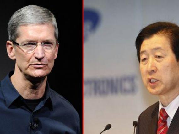 Apple si Samsung se intalnesc la tribunal. Tim Cook il va confrunta pe seful companiei sud-coreene in conflictul patentelor