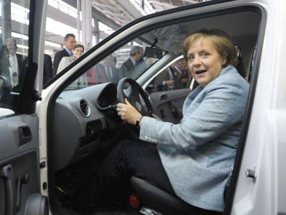 Masina Angelei Merkel, de vanzare pe Internet. Cu cat s-a dat Volkswagenul din 1990, cu 190.000 de km la bord