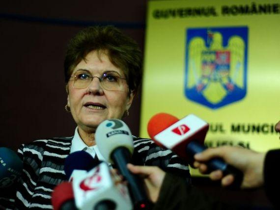 Mariana Campeanu da ca sigura majorarea salariilor cu 15% si restituirea sumelor oprite pensionarilor. Georgescu spune ca  va face toate eforturile necesare