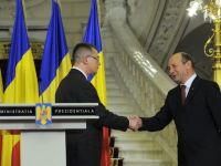 Mihai Razvan Ungureanu si o parte a membrilor Cabinetului, intrevedere cu Traian Basescu
